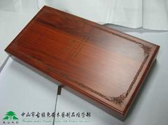 Pear wooden box