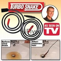 Turbo Snake drain cleaner Opener As Seen on TV