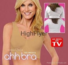 Genuine Ahh Bra As Seen On TV Rhonda Shear Ahh Seamless Leisure Bra