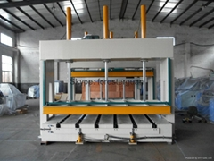 woodworking hydraulic cold press