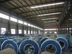 Galvanized steel coil factory