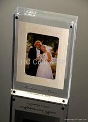 acrylic photo frame display