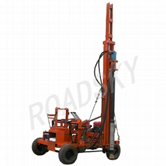 Hydraulic Driller for Guardrail Post