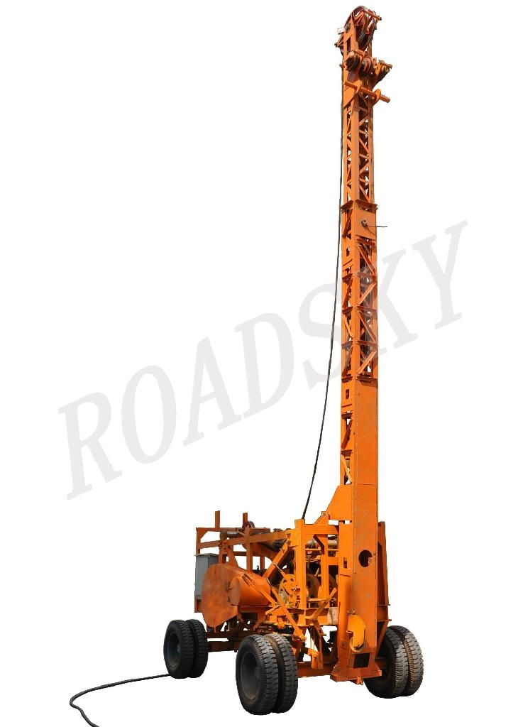 Water well drilling rig rs b roadsky china