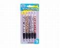 Retractable Ball Pen 5 Pack