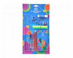 School stationery set