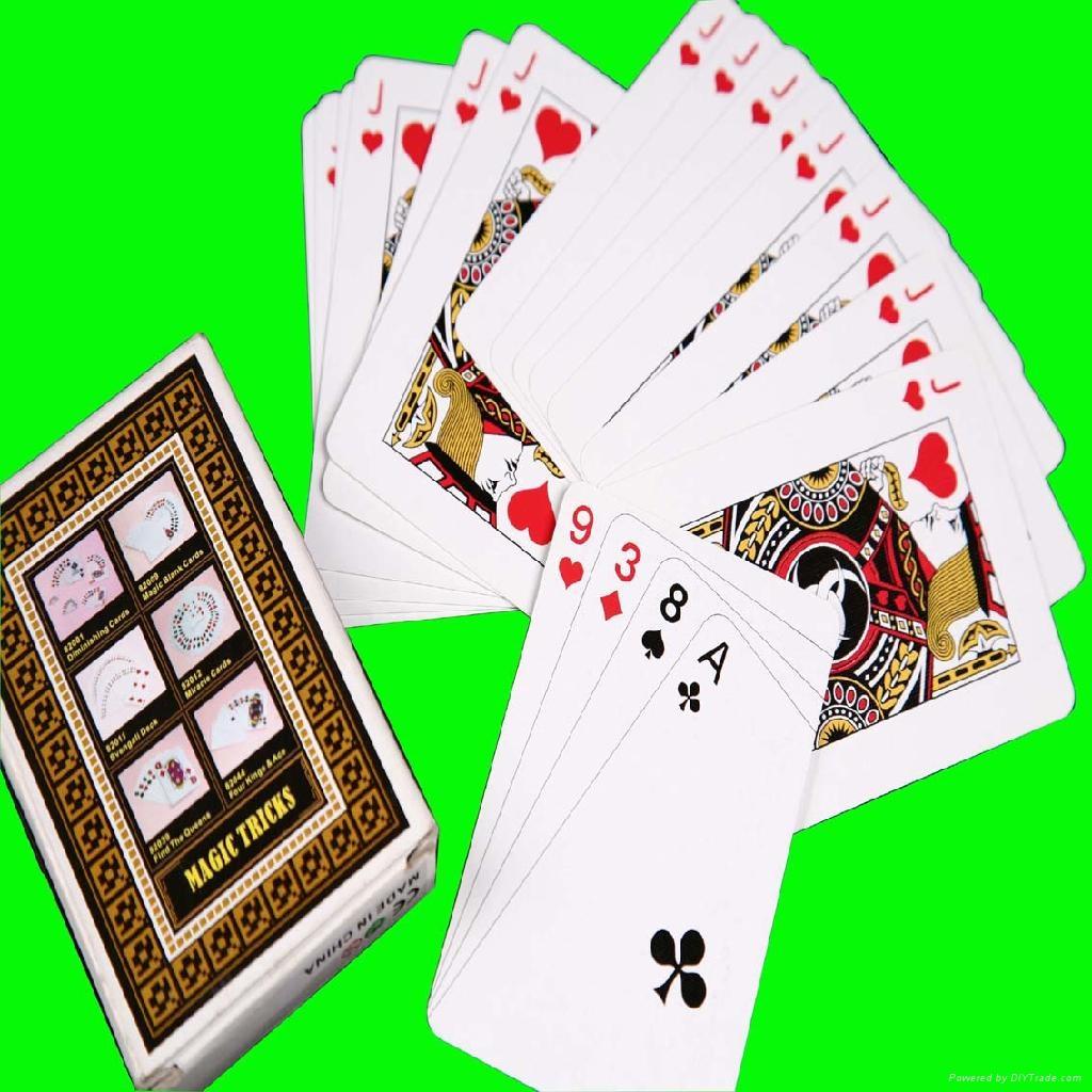 魔朮撲克牌 1