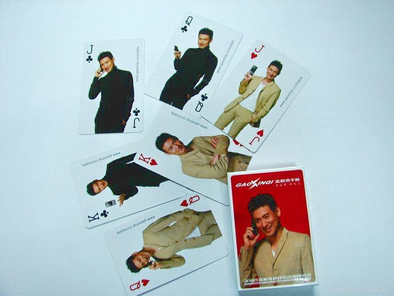 塑料扑克牌 3