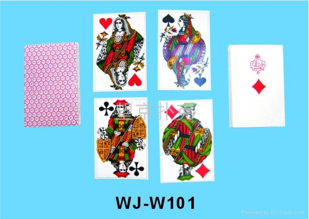魔术表演扑克牌 1