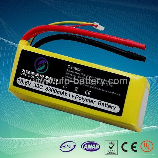 RC Model Battery Pack 18.5V 3300mAh 30C 2