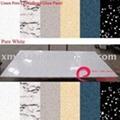Hole free crystallized glass