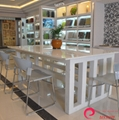 Pore Crystallized Glass Panel Kitchen