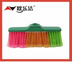 plastic broom head