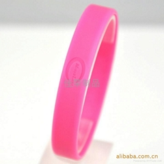 Customized promotional Silicone wrist bands