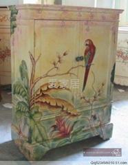 手繪地中海風格傢具