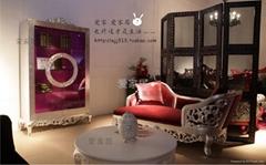 奢華新古典沙發
