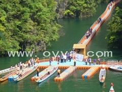 供应水上浮桥