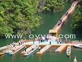 供应三峡景区用观光浮桥