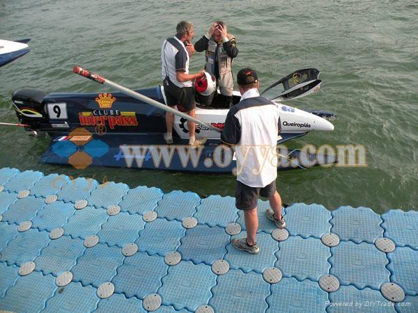 供应国际赛事皮划艇码头 1