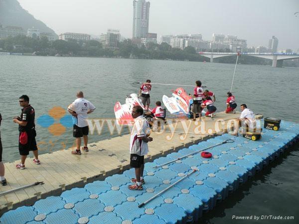 供应国际赛事皮划艇码头 2