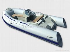 inflatable boat (RIB)