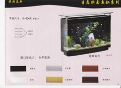 生态拱面鱼缸