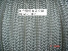 雙層編織纜繩