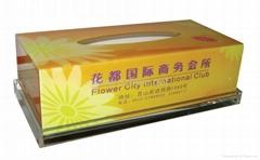 Acrylic Hotel Tissue Box