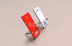 acrylic cellphone display