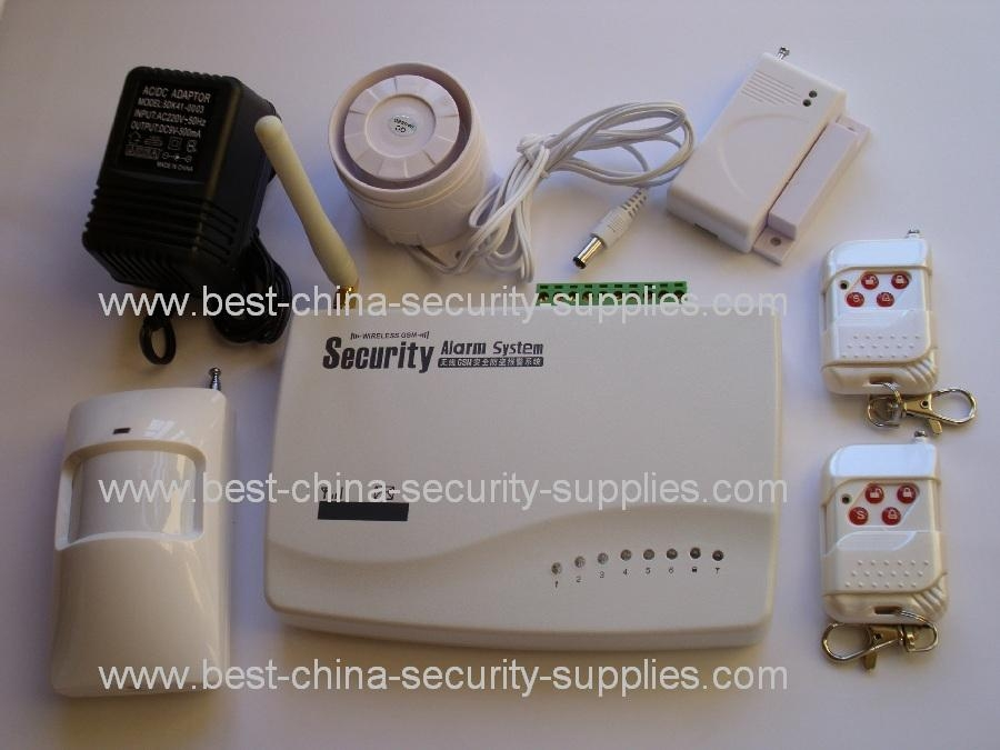 10 Wired Wireless Burglar Alarm S3 GSM SMS Dual Band 1