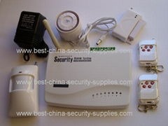 10 Wired Wireless Burglar Alarm S3 GSM SMS Dual Band