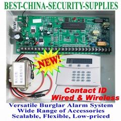 Wired Wireless Burglar Alarm Control Panel 8+16 Zones = DSC