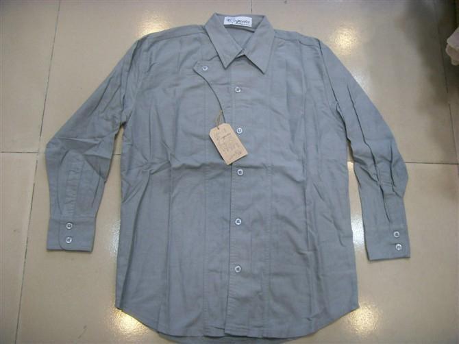 欧美原单男式长袖衬衫库存 2