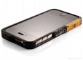 Aluminum Bumper Element Case Vapor Pro Black Ops iphone 4 4S CASE