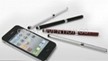 2 IN 1 TOUCH BALL PEN STYLUS FOR CAPACITIVE PANEL IPHONE IPAD HTC GALAXY S4 S3