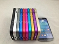 Push-Sliding bumper for Samsung Galaxy S4 i9500 Aluminum Metal Bumper Case