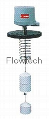Displacer type level switch FOR HEAVY METAL INDUSTRIES
