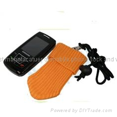 promotional cell phone socks
