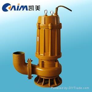 WQ(QW)潜水式无堵塞排污泵 1