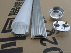 T8贴片类铝塑管(LED日光灯管外壳)