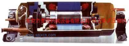 """""""日立""""系列压缩机高,低压腔间设有安全泄压阀;并设有图片"""