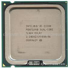 Intel pull cpu E2200