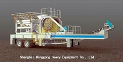 Mobile Crushing Plant/Mobile Crusher For Sale/Mobile Impact Crusher
