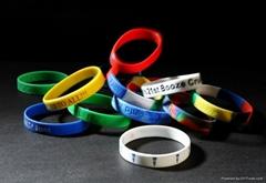 Silicone Wristbands Silicon Bracelet Rubber Bracelets