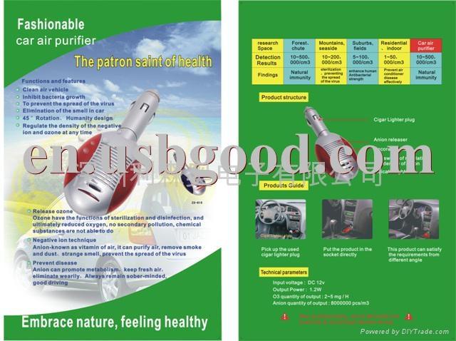 汽車空氣淨化器 4