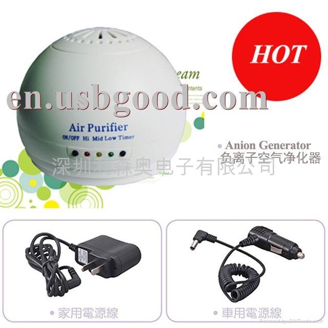 家用負離子空氣淨化器  1