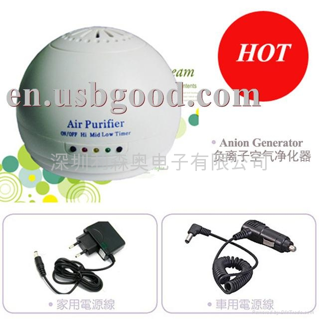 家用負離子空氣淨化器  2