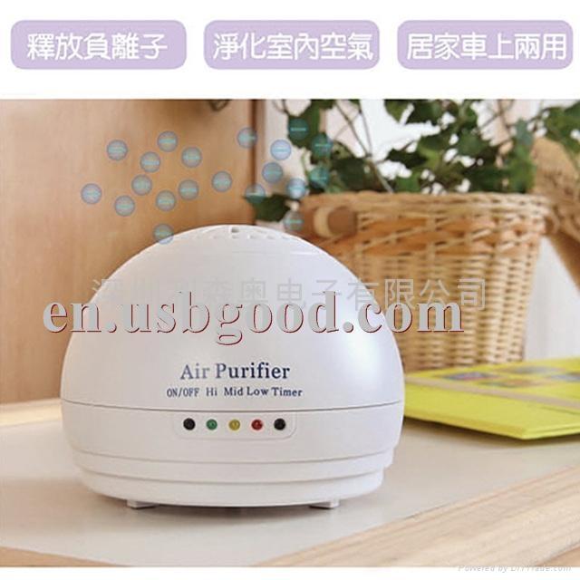 家用負離子空氣淨化器  5