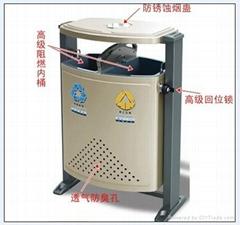 德瀾仕D-01鋼制分類垃圾桶