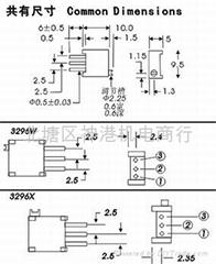 3590S多圈線繞電位器